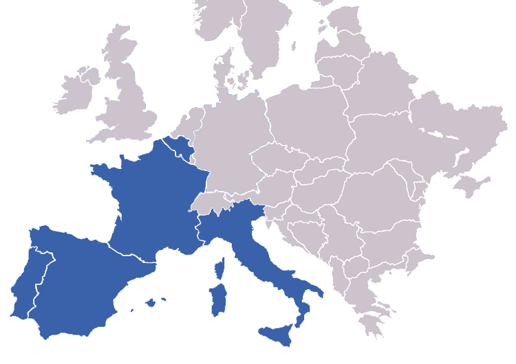 T-shirts in europe